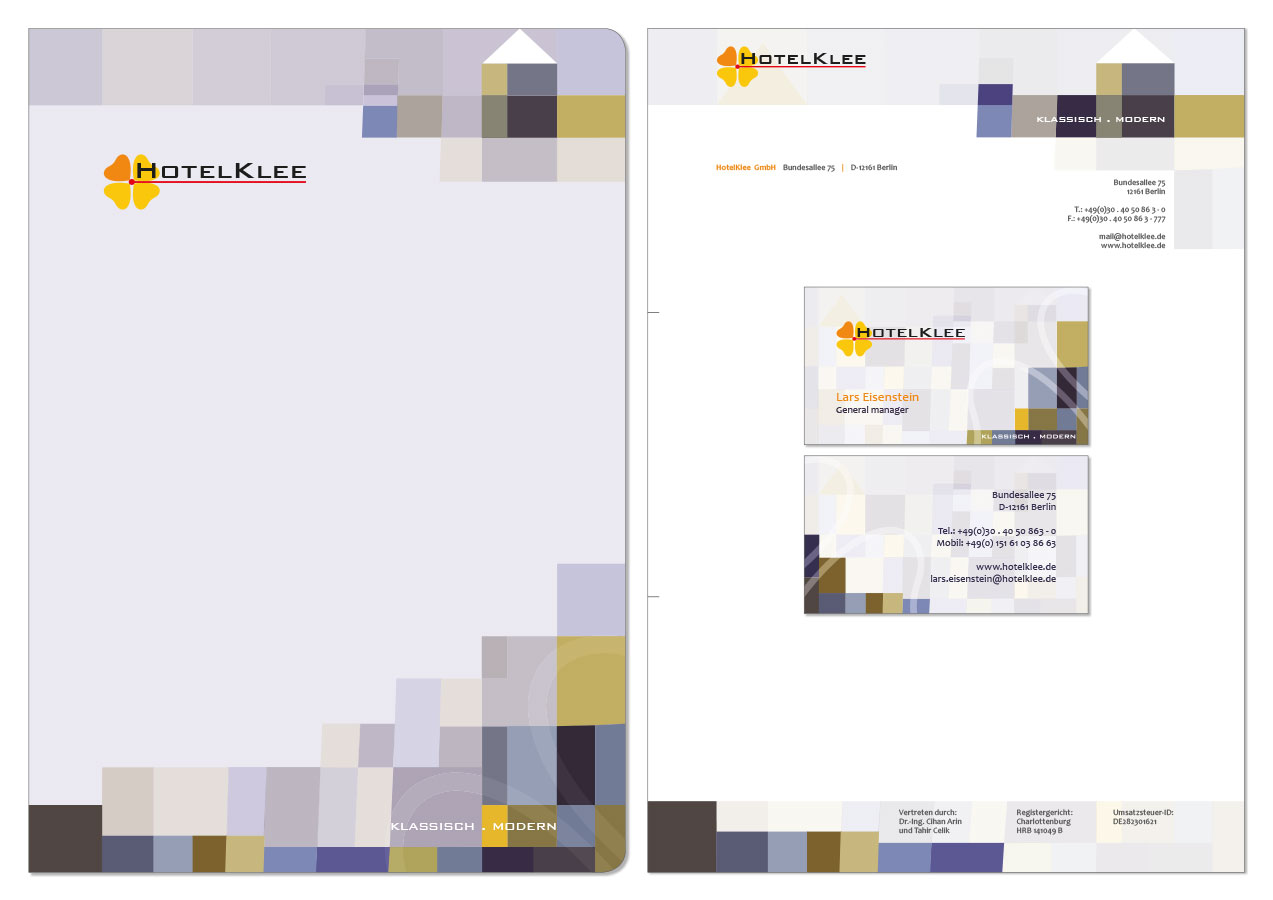 Corporate Identity HotelKlee