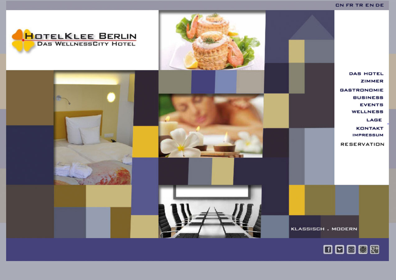 Website HotelKlee